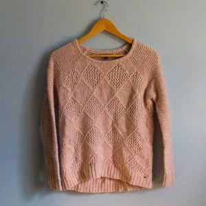 AE Pink Knit Sweater